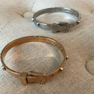 Michael Kors adjustable Bangles